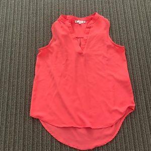 5/$15! thin silky iris blouse